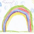 Tegnet av Jorunn Marie, 6år